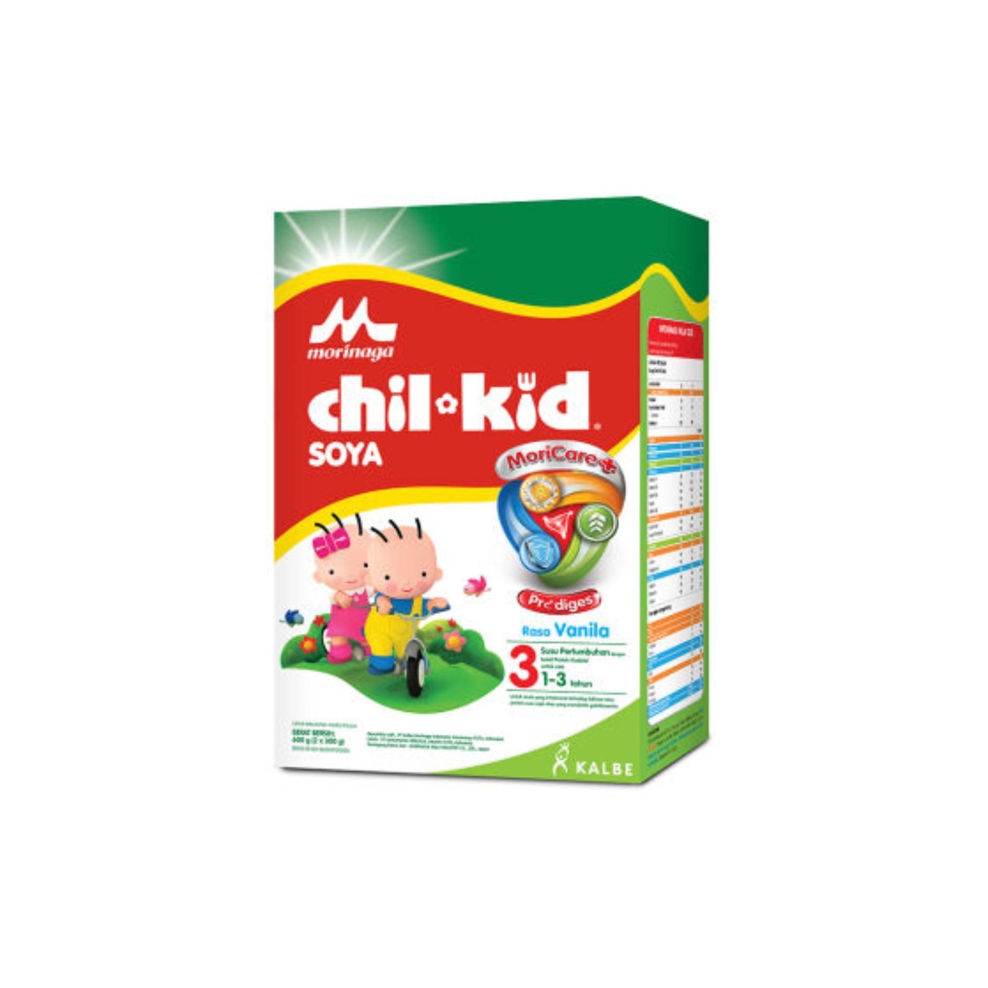 Beli Morinaga Chil Kid Soya 3 Vanila Susu Box 600G 600 G Morinaga Online