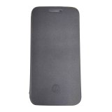 Cara Beli Moto E3 Power Flip Cover Hitam
