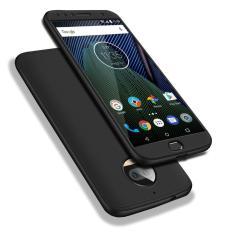 Harga Moto G5S Plus Case Ruilean 360 ° Full Body Cakupan Perlindungan Hard Pc 3 In 1 Dilepas Pelindung Case Cover Untuk Motorola Moto G5S Plus 5 5 Black Tempered Glass Screen Protector Ruilean Terbaik