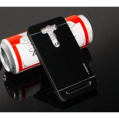 Motomo Asus Zenfone 2 Laser ZE500kl 5,0 inch Hardcase Backcase Asus Zenfone 2 Laser Casing Asus Zenfone 2 Laser ZE500kl Metal Case Asus Zenfone 2 Laser - Hitam