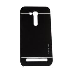 Motomo Asus Zenfone GO (2016) 4.5 inchi /  ZB452KG Metal Hardcase / Metal Back Cover / Hardcase Backcase / Metal Case - Hitam
