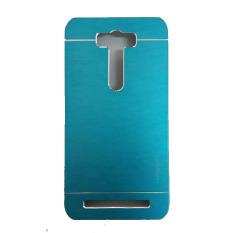 Motomo Asus Zenfone Laser 5.5 inci / ZE550KL Metal Hardcase / Metal Back Cover / Hardcase Backcase / Metal Case - Biru Muda
