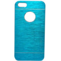 Motomo Case For Apple iPhone 6 / iphone6 / Iphone 6 / Iphone6 Ukuran 6 4.7 Inch / IP 6G / IP 6S Metal + Polycarbonatte Hard Back Case / Metal allumunium Case / Hard Back Cover / Casing HP - Biru Muda