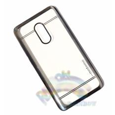 Motomo Chrome Xiaomi Redmi Note 4 Softcase Shining Chrome Glamour Bac Cover / Tpu Jelly Case