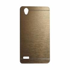 Motomo Hardcase Oppo Mirror 5 A51T / Casing Oppo Mirror 5 A51T / Metal Case Oppo Mirror 5 A51T - Gold