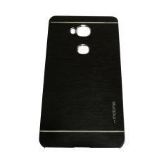 Motomo Huawei Honor 5X / GR 5 Metal Hardcase / Hardcase Backcover / Hardcase Backcase / Metal Case - Hitam