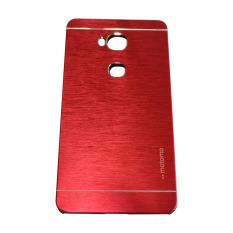 Motomo Huawei Honor 5X / GR 5 Metal Hardcase / Hardcase Backcover / Hardcase Backcase / Metal Case - Merah