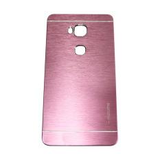 Motomo Huawei Honor 5X / GR 5 Metal Hardcase / Hardcase Backcover / Hardcase Backcase / Metal Case - Pink