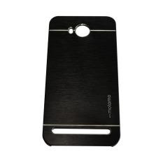 Motomo Huawei Honor Y32 2016 / Y3II /  3C Lite Metal Hardcase / Metal Backcover Hardcase Backcase / Metal Case  - Hitam