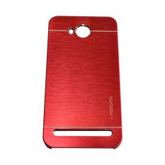 Motomo Huawei Honor Y32 2016 / Y3II /  3C Lite Metal Hardcase / Metal Backcover Hardcase Backcase / Metal Case - Merah
