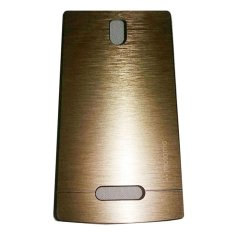 Motomo Lenovo A2010 Hardcase Backcase Metal Case - Gold