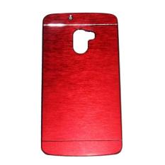 Motomo Lenovo K4 Note / A7010 Metal Back Cover / Metal Hardcase / Hardcase Backcase / Metal Case- Merah