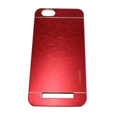 Motomo Lenovo Vibe C / A2020 Metal Hardcase / Metal Backcover Hardcase Backcase / Metal Case - Merah