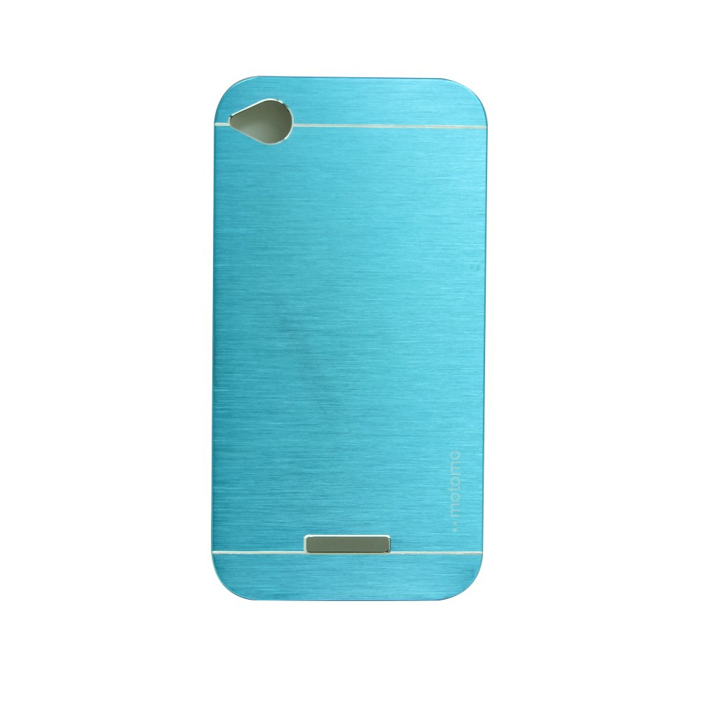 Motomo Metal Case for HTC Desire 320 - Light Blue