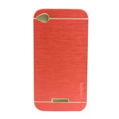 Motomo Metal Case for HTC Desire 320 - Merah