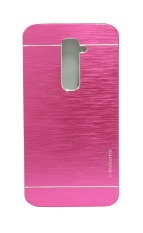 Motomo Metal Case for LG G2 - Hot Pink