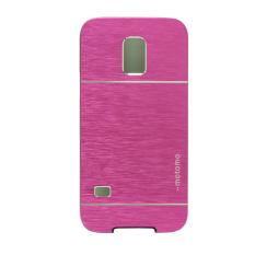 Motomo Metal Case for Samsung Galaxy S5 Mini G800 - Hot Pink