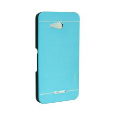 Motomo Metal Case for Sony Xperia E4G - Biru Muda