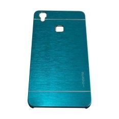 Motomo Metal Case For Vivo V3 BackCase - Biru Muda