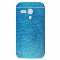 Motomo - Motorola Moto G Kim Metal Case Premium Quality - Biru