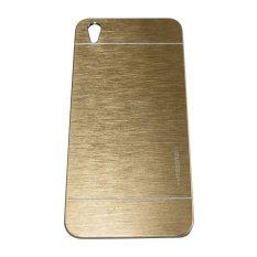 Motomo Oppo F1 Plus / Oppo F1+ / Oppo R9 Hardcase Motomo Oppo F1 Plus / Metal Back Cover / Hardcase Backcase / Metal Case / Hard Cover Oppo R9 / Casing HP - Gold