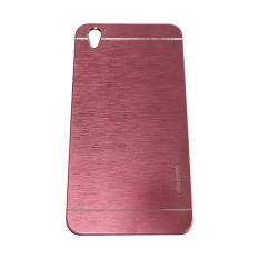 Motomo Oppo F1 Plus / Oppo F1+ / Oppo R9 Hardcase Motomo Oppo F1 Plus / Metal Back Cover / Hardcase Backcase / Metal Case / Hard Cover Oppo R9 / Casing HP - Pink