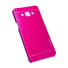 Samsung Galaxy E7 E700 Hardcase Backcase Metal Case - Pink