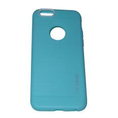 Motomo Softcase untuk iPhone 6 Plus / Iphone6 Plus / iPhone 6G Plus / Iphone 6S Plus / iPhone 6+ Ukuran 5,5 Inch Softshell / Silicone / Silikon / Casing Handphone - Hijau Tosca