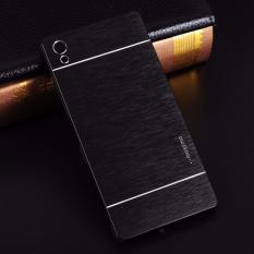Motomo Sony Xperia Z5 Premium Case Rubber Polycarbonat + Metal Hardcase Hard Back Case / Hard Back