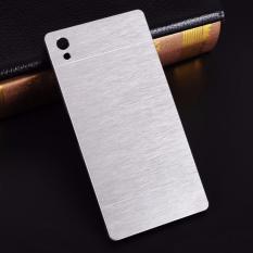Motomo Sony Xperia Z5 Premium Case Rubber Polycarbonat + Metal Hardcase Hard Back Case / Hard Back Cover /  Motomo Metal Allumunium Sony Z5 Premium / Case Sony Xperia Z5 Premium / Hardcase Metal Sony Z5 Premium - Silver