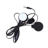 Toko Helm Sepeda Motor Earphone Headset Sport Stereo In Ear Headset Hitam Di Tiongkok