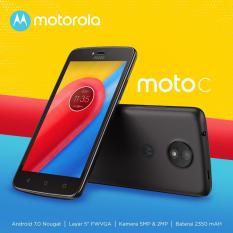 Jual Motorola Moto C 4G Lte Ram 1Gb 16B Black Original