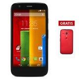Review Terbaik Motorola Moto G Dual Sim 16 Gb Hitam Protective Back Case Merah Perdana Telkomsel