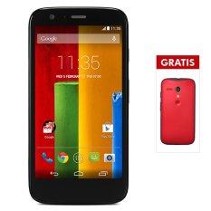 Harga Motorola Moto G Dual Sim 16 Gb Hitam Protective Back Case Merah Perdana Telkomsel