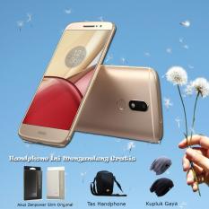 Motorola Moto M TX1663 4Gb Gold Free Paket 3 Item