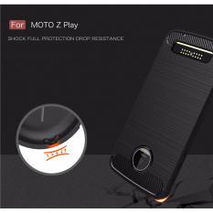 Jual Motorola Moto Z Play Xcase Slim Rugged Case Black Carbon Xcase