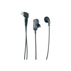 Motorola Original OEM HMN9036 HMN9036A Earbud with Clip Microphone & PTT - Compatible with: CLS1110, LS1410, CP110, CP200, CP200XLS, GP300, PR400 - intl