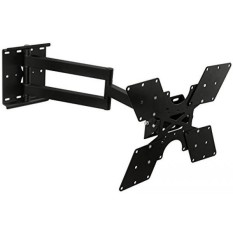 Mount-it! TV Wall Mount Bracket with Full Motion Swing Out Tilt and Swivel Articulating Arm up To VESA 400x400 and 100-Lbs (45-kg) Weight TV (MI-411L) - intl