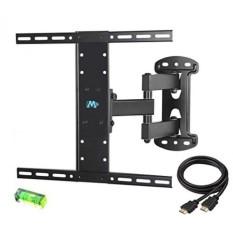 Mounting Dream MD2383 TV Wall Mount Bracket untuk Sebagian Besar Inch LED, LCD, OLED dan Plasma Layar Datar TV dengan Full Motion Swivel Articulating Arm Hingga VESA 400x400mm dan 66 LBS dengan Tilting-Intl