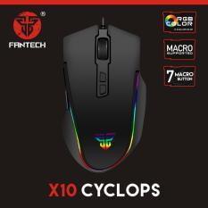Tips Beli Mouse Fantech Macro Rgb Gaming X10 Cyclops Yang Bagus