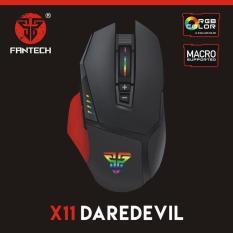 Mouse Gaming Fantech Macro RGB X11 DAREDEVIL 8000 DPI