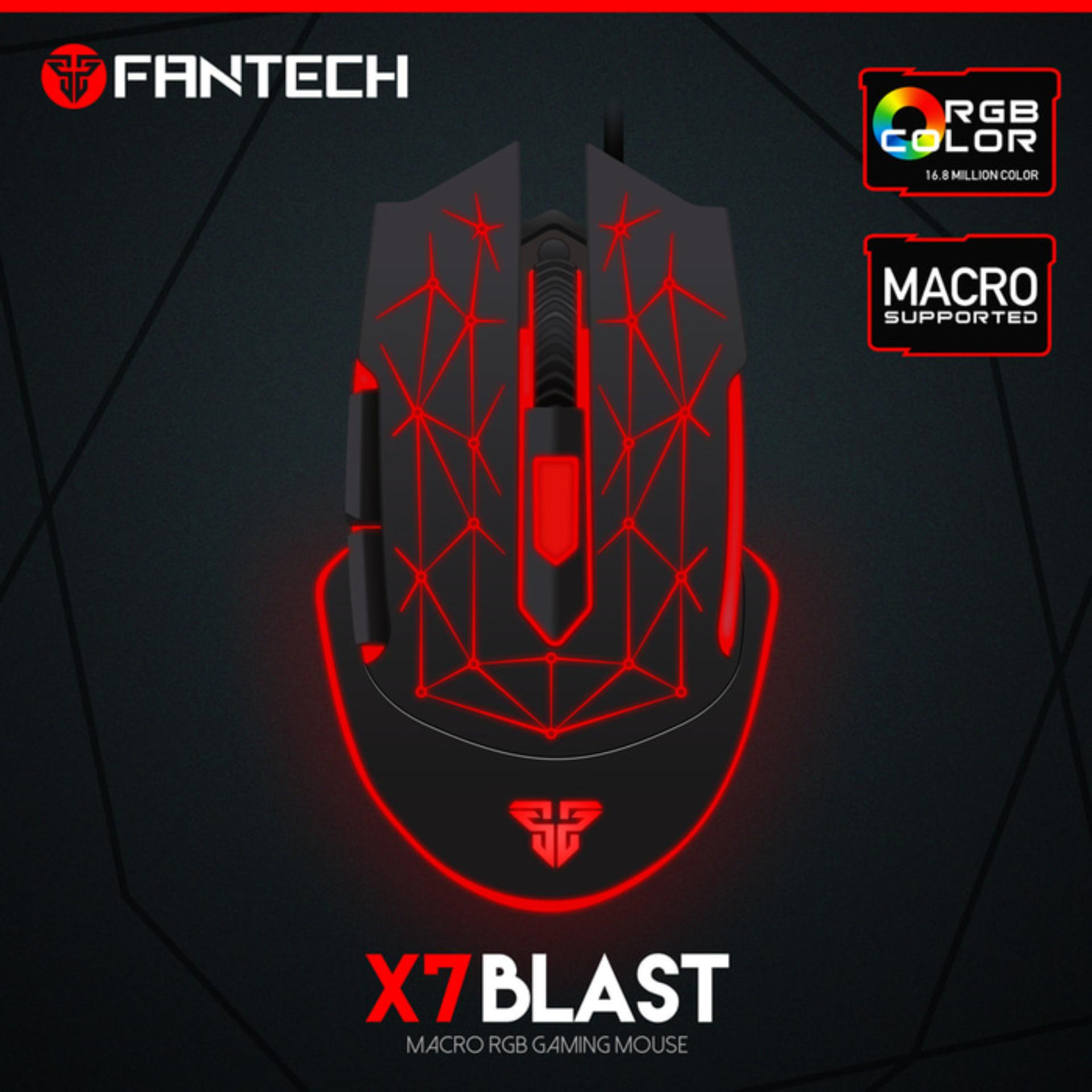 Review Pada Mouse Gaming Fantech X7 Blast