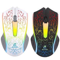 Mouse Gaming Kabel JEQANG JM-812 Lampu Warna Warni LED / Mouse Gaming Murah Promo JEQANG JM-812