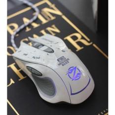 Mouse Gaming Kabel Zornwee Dengan Lampu Untuk Komputer Laptop PC Zornwee Gaming Mouse Putih