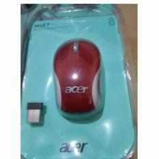 MOUSE WIRELESS ACER M187 - Merah