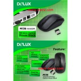 Toko Mouse Wireless Delux M136 Battery Delux Online