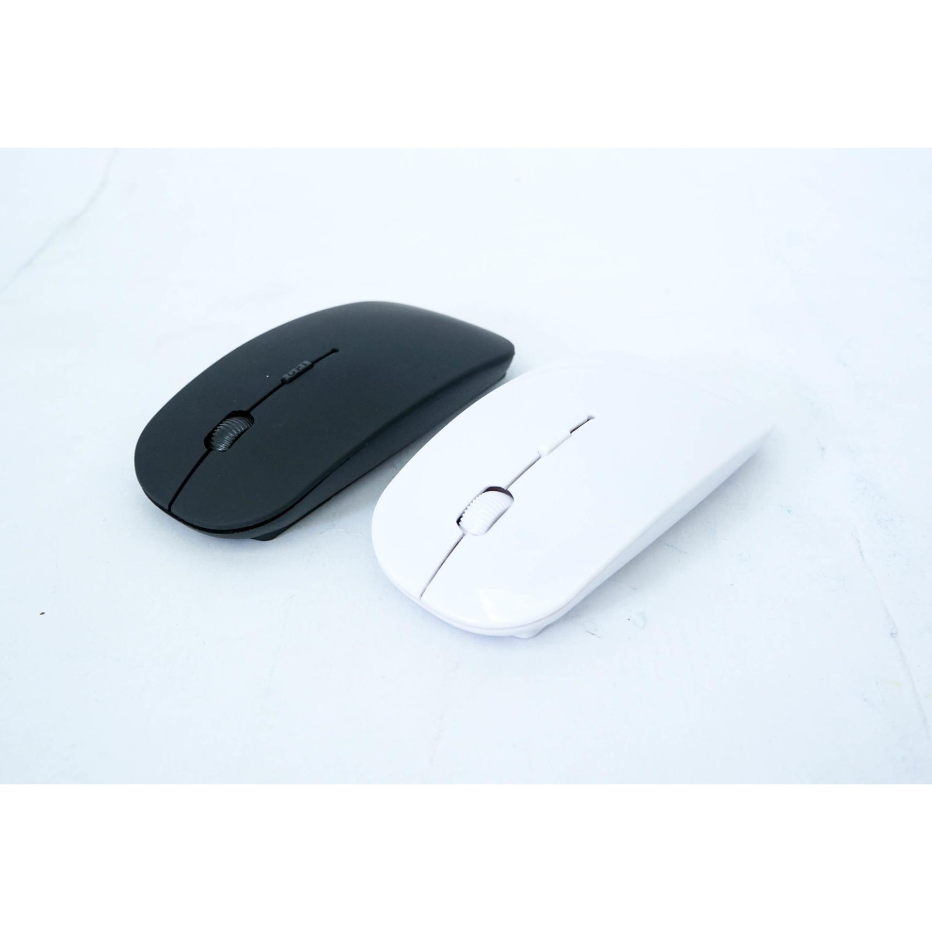 Toko Mouse Wireless Super Slim With Usb Receiver 2 4Ghz For Laptop Notebook Indonesia