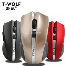 Mouse Wireless T-Wolf Q5 Include Battery Berkualitas Dan Murah