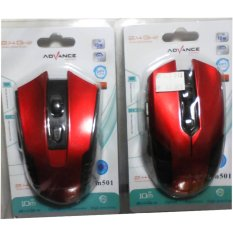 Jual Mouse Wirelles Advance 501 Online Jawa Timur