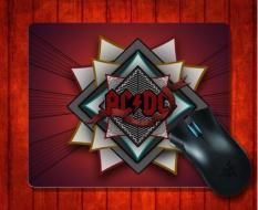 MousePad AC DC Musik untuk Mouse Mat 240*200*3mm Gaming Mice Pad-Intl